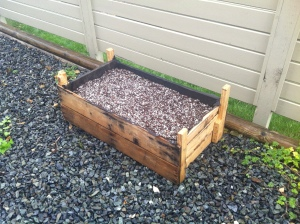 Home made Vegetable Garden planter box