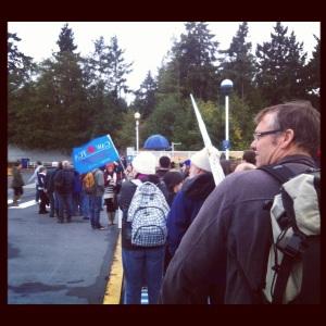 bus line up defend our coast