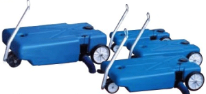 Blue boy portable waste